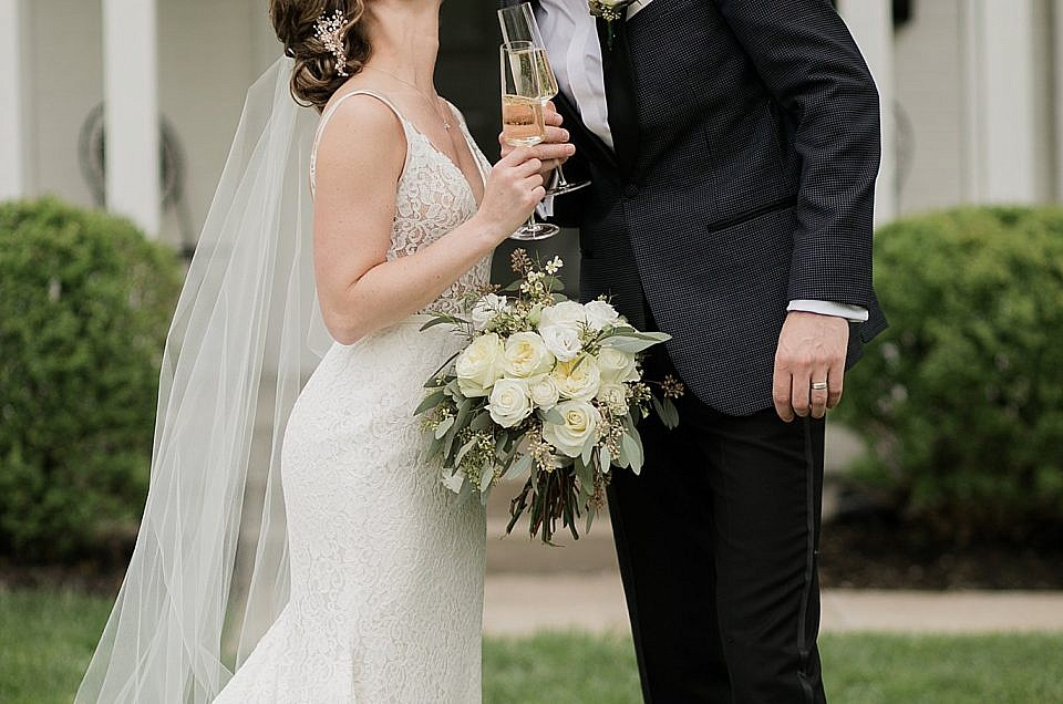 Brandon & Victoria  A Backyard Wedding  | Louisville, KY Wedding Photographer